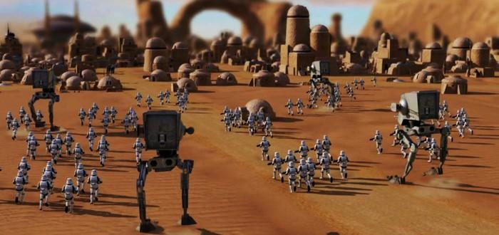 Скриншоты и видео из отмененной стратегии Star Wars