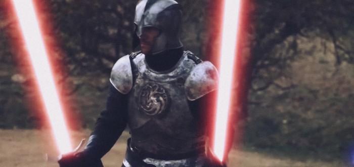 Одно из лучших сражений нового сезона Game of Thrones в стиле Star Wars