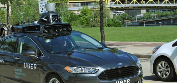 Uber показала беспилотный автомобиль