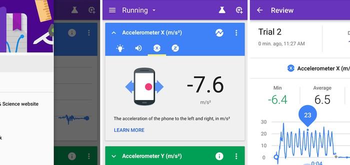 Новое приложение Google превратит ваш Android в лабораторию