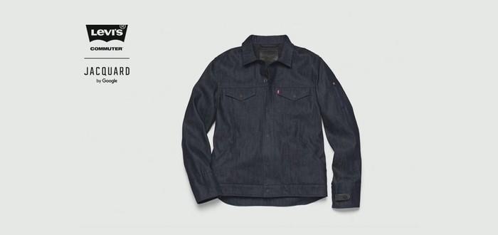 Умная куртка от Google и Levi's