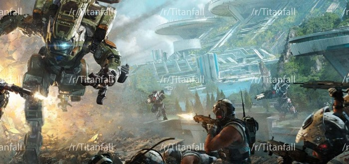 Утечка арта и деталей Titanfall 2