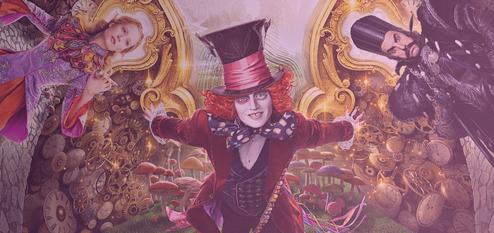 Рецензия: Алиса в Зазеркалье