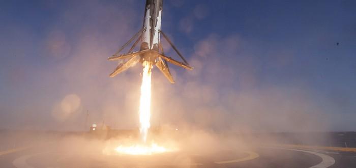 SpaceX осуществила третью успешную посадку ракеты на баржу