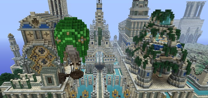 Никакой сторонней рекламы в Minecraft