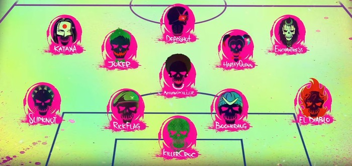 Футбольное промо Suicide Squad