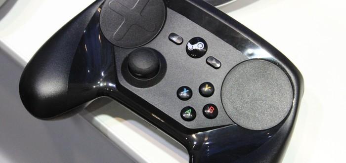 Steam Controller получит VR-поддержку
