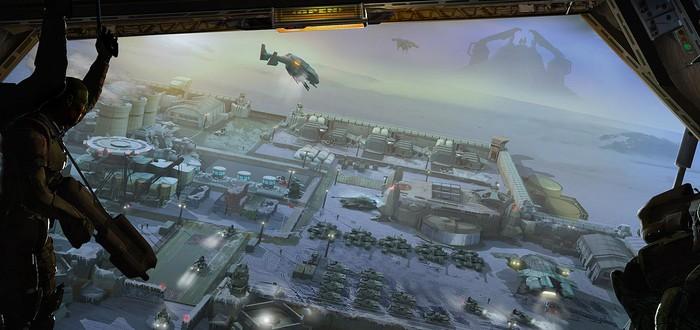 Арт Halo Wars 2 утек до E3 2016