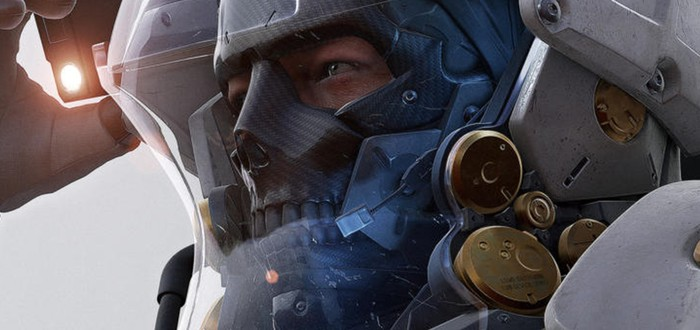 Новое изображение персонажа с лого Kojima Productions