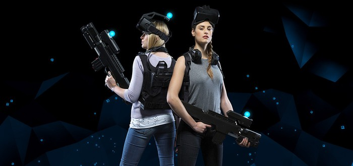 Командный VR на открытой площади выглядит увлекательно