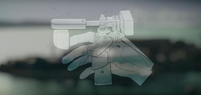 Sony запатентовала странный контроллер с тактильной отдачей