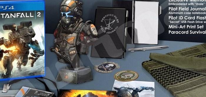 Фейковые изображения изданий Titanfall 2