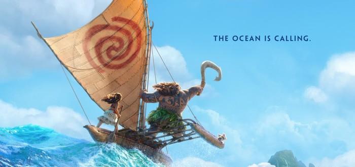 Трейлер нового мультфильма Disney — Moana