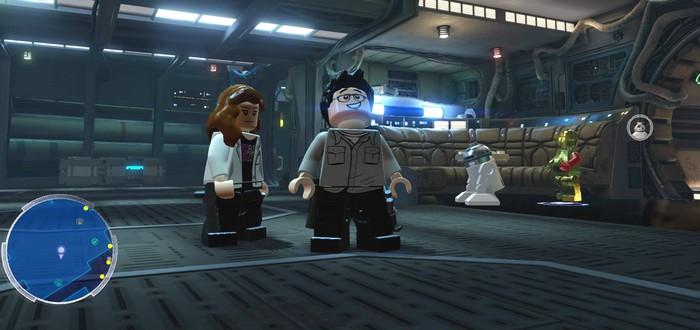 В Lego Star Wars: The Force Awakens можно играть за Джей Джея Абрамса