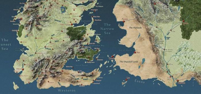Интерактивная карта Game of Thrones