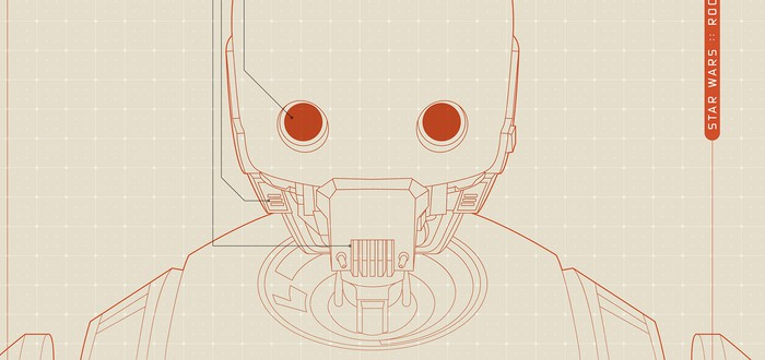 Детали дроида K-2SO из Rogue One
