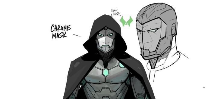 Первый взгляд на костюм Железного Человека для Доктора Дума