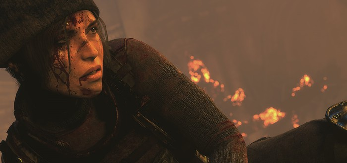 Rise of the Tomb Raider выходит на PS4 в октябре