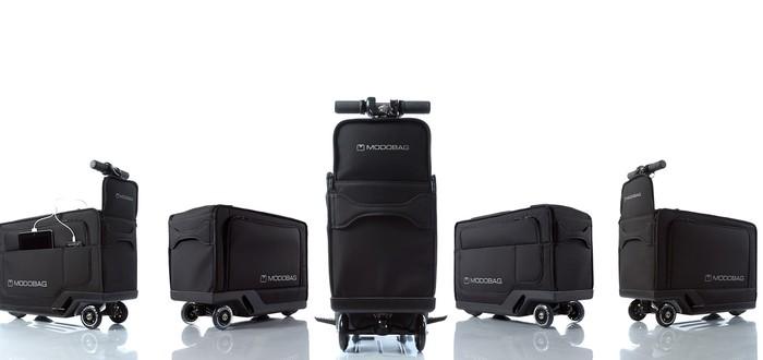 Теперь вы сможете ездить по аэропорту на своем чемодане