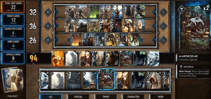 Разработчики Gwent привезут игру на Gamescom