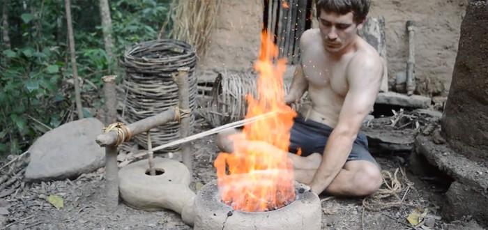 Примитивные технологии: как построить плавильную печь в лесу
