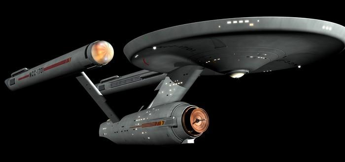 Ремонт оригинального корабля Enterprise из Star Trek