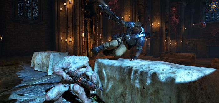 Microsoft запустит серию турниров по Gears of War 4