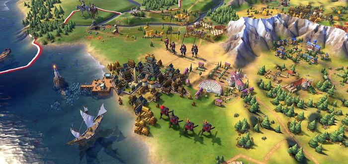 52 минуты геймплея Civilization VI