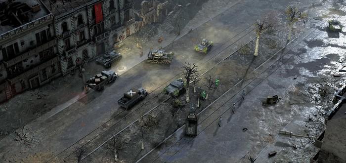 Анонс Sudden Strike 4, в том числе и для PS4