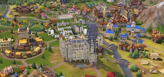 Строительство Биг Бена в Civilization VI