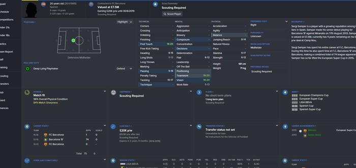 Football Manager 2017 выйдет в начале ноября