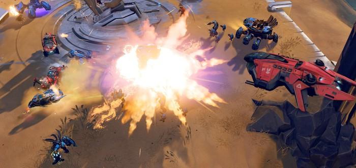 17 минут мультиплеера Halo Wars 2