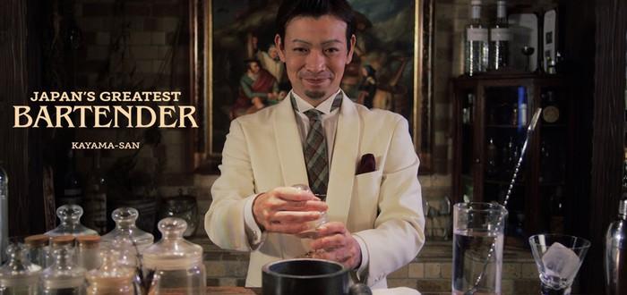Лучший бармен Японии готовит Кампари