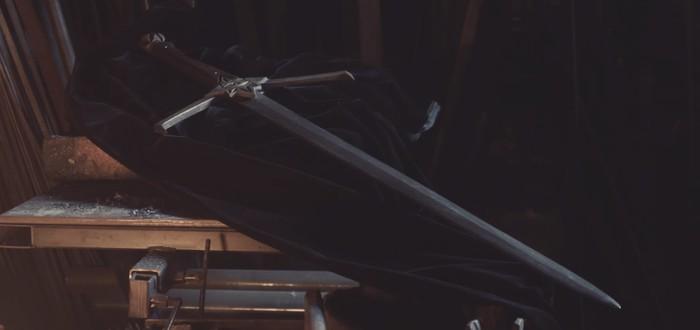 Создание реального меча инквизиции из Dragon Age: Inquisition