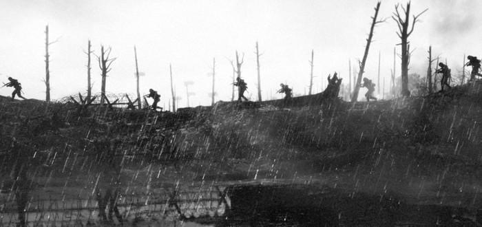 Скриншоты Battlefield 1 в стиле фотографий Первой Мировой