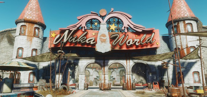 Первые 18 минут Fallout 4: Nuka-World