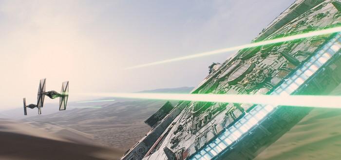 Студия ILM показала видеоролик о создании спецэффектов для Star Wars: The Force Awakens