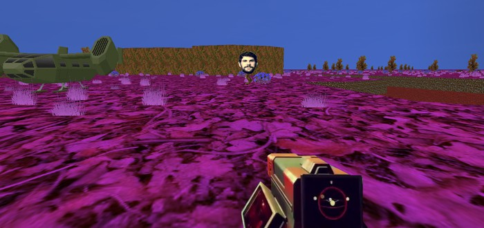 No Man's Sky как мод для Doom 2