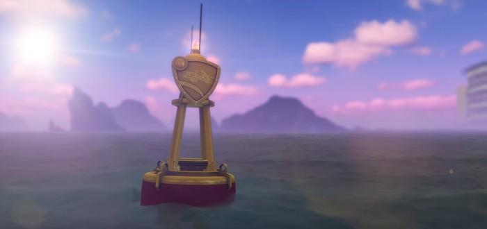 Анонс подводного дополнения Rocket League