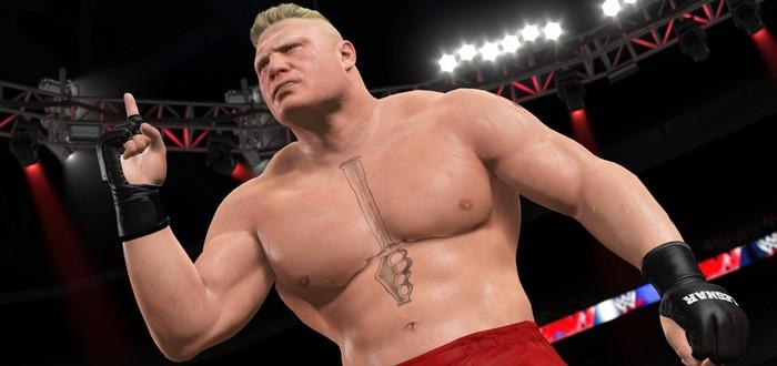 2K анонсировала пачку DLC для WWE2K17
