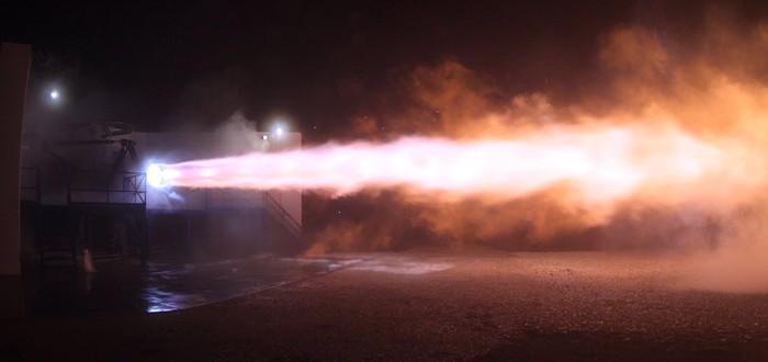 SpaceX успешно протестировала межпланетный двигатель