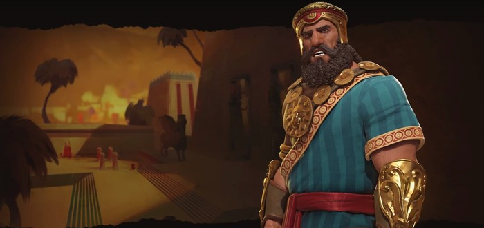 Шумеры в Civilization VI и ее лидер Гильгамеш