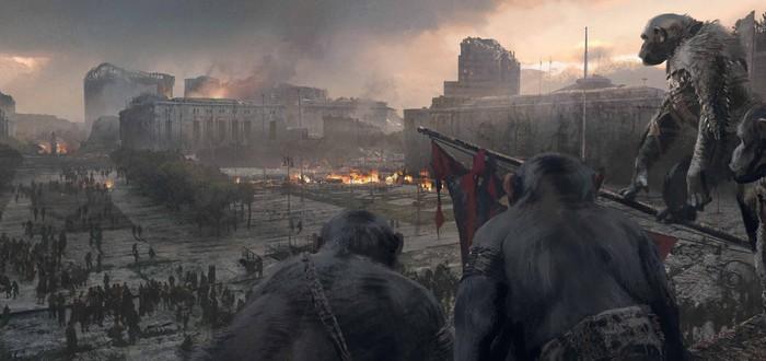 Первый тизер War for the Planet of the Apes