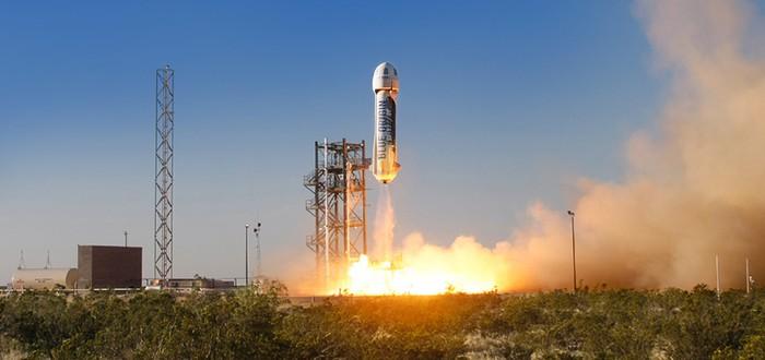 Blue Origin успешно протестировала отстрел и посадку капсулы