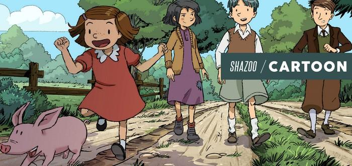 ShaToon: Long, long holiday — Дети в мире взрослых