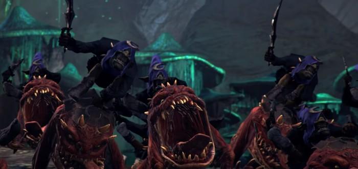 Борьба непримиримых врагов в трейлере нового DLC Total War: Warhammer