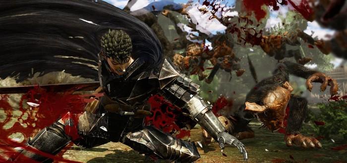 Море крови и жестокости во вступительном ролике Berserk and the Band of the Hawk