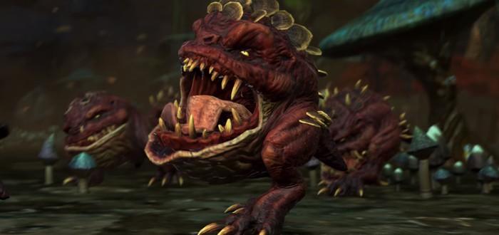 Взгляните поближе на милейших Сквигов из будущего DLC к Total War: Warhammer