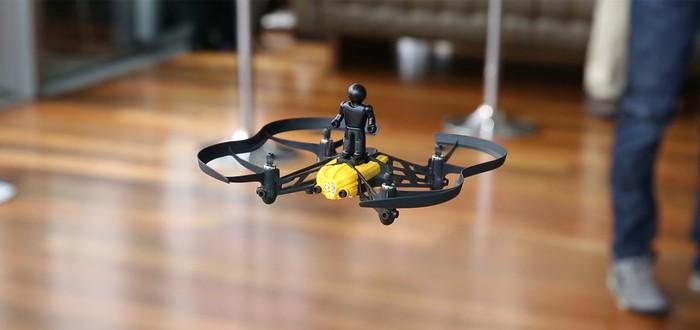 Amazon хочет оснастить полицейских мини-дронами
