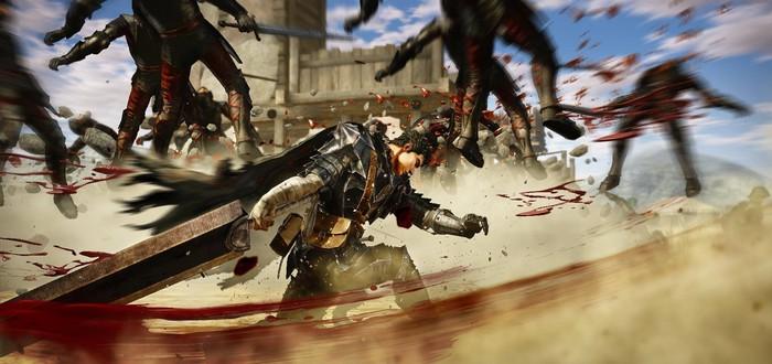 Боссы Berserk and the Band of the Hawk и вид игры на PS Vita